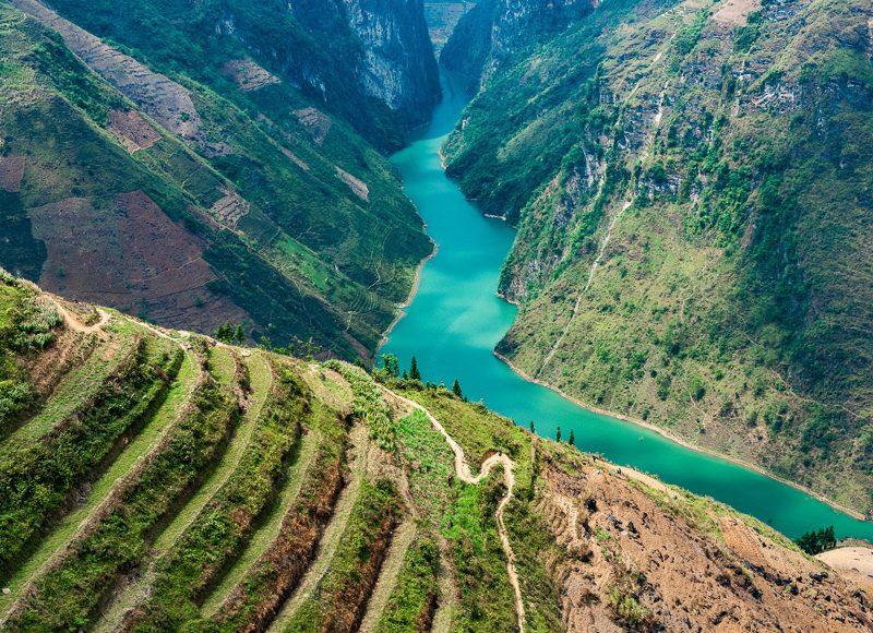 Tour Hà Giang 3 ngày 4 đêm - Trải nghiệm chèo thuyền sông Nho Quế